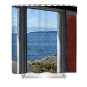 Lightkeepers View Shower Curtain