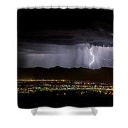 Lightning 1 Shower Curtain