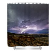 Lightning 32 Shower Curtain