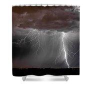 Lightning 8 Shower Curtain