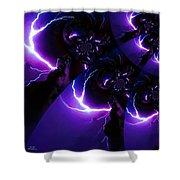 Lightning Illusion 5 Shower Curtain
