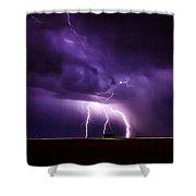 Lightning2 Shower Curtain