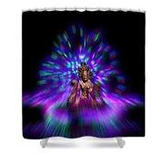 Lightpainting Tara Shower Curtain