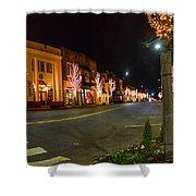 Lights Down Fairhope Ave Shower Curtain