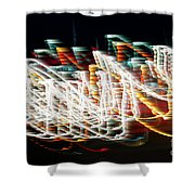 Lights In The Wind I Shower Curtain