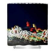 Lights In The Wind II Shower Curtain