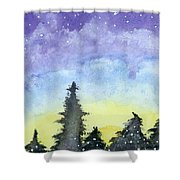 Lights Of Life Shower Curtain