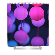 Lights Of Love Shower Curtain