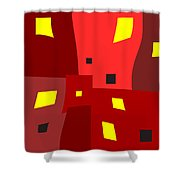 Lights On Lights Off Shower Curtain
