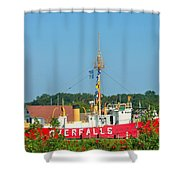 Lightship Overfalls Shower Curtain