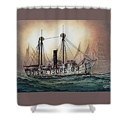 Lightship Swiftsure Shower Curtain