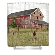 Ligonier Barn Shower Curtain