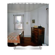 Ligthouse Bedroom At Drum Point Shower Curtain