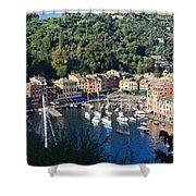 Liguria - Portofino Shower Curtain