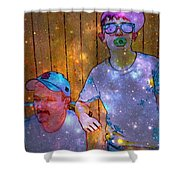 Like Father Like Son 2 Shower Curtain