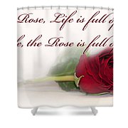 Like The Rose Shower Curtain