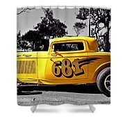 Lil' Deuce Coupe Shower Curtain