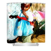 Lil Girl  Shower Curtain
