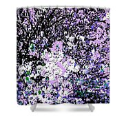 Lilac Crepe Myrtle Bloom  Shower Curtain
