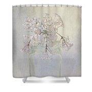 Lilac Flower Shower Curtain