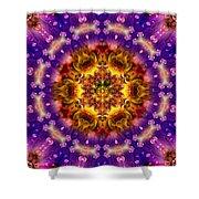 Sacred G Mandala 2 Shower Curtain