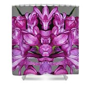 Lilac Twins Shower Curtain