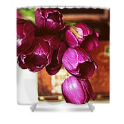 Lilies To Go Shower Curtain