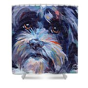 Lilli All Growed Up Shower Curtain