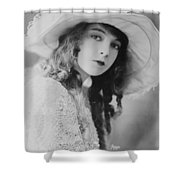 Lillian Gish Shower Curtain