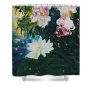 Lillie Pond Shower Curtain
