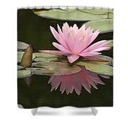 Lilly And Reflective Beauty Shower Curtain