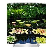 Lilly Garden Shower Curtain