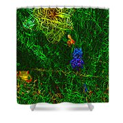 Lillyput Hardwired Shower Curtain