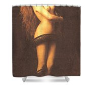 Lilth Shower Curtain by John Collier