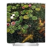 Lily 0147 - Colored Photo 2 Sl Shower Curtain