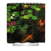 Lily 0147 - Lux Sl Shower Curtain