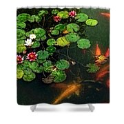 Lily 0147 - Watercolor 1 Sl Shower Curtain