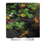 Lily 0147 - Watercolor 2 Sl Shower Curtain