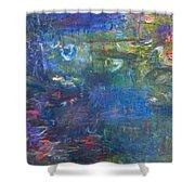 Koi Pond 2 Shower Curtain