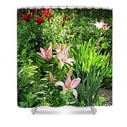 Lily Garden Shower Curtain