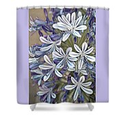 Lily Of The Nile Shower Curtain