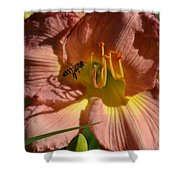 Lily Seduction Shower Curtain
