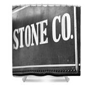 Lima Stone Co Shower Curtain