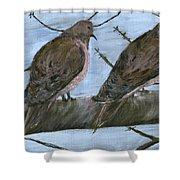Limbirds Shower Curtain