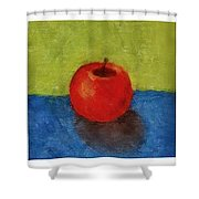 Lime Apple Lemon Shower Curtain by Michelle Calkins