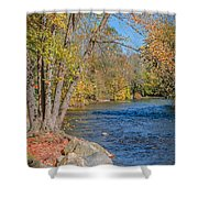 Lime Kiln Park   Shower Curtain