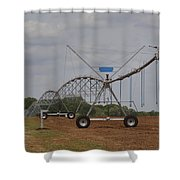 Limestone County Crop Irrigation Shower Curtain