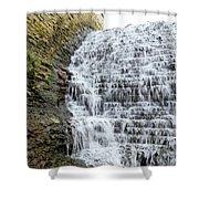 Limestone Falls 2 Shower Curtain