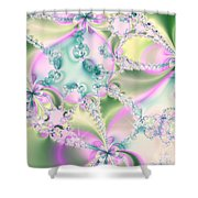 Limitation Of Dreams Abstract Art Prints Shower Curtain