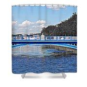 Limited Edition Dublin Bridge Shower Curtain